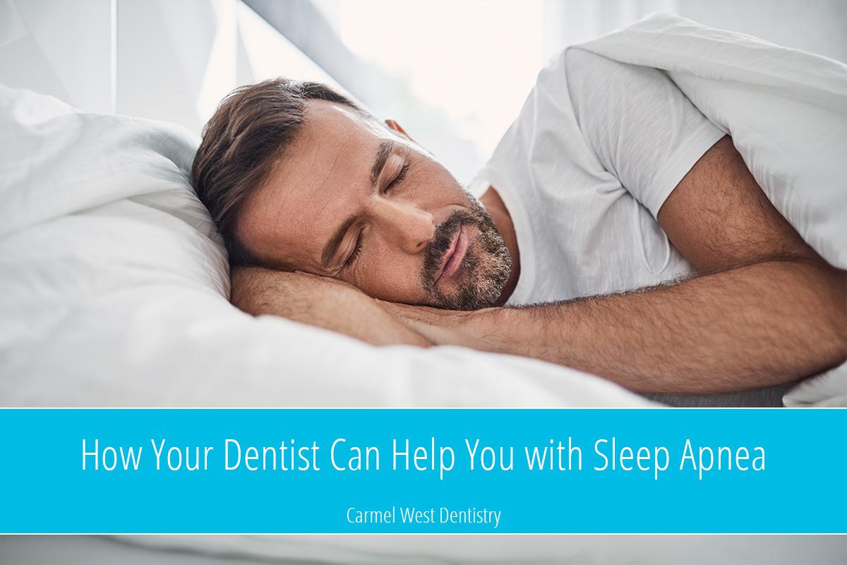 How Your Dentist Can Help with Sleep Apnea